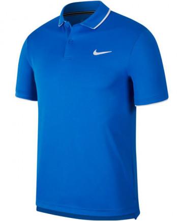 Nike Men's Court Dry Team Polo Signal Blue 939137-403