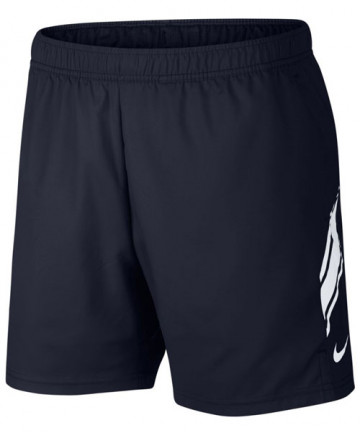 Nike Men's Court Dry 7 Inch Shorts Obsidian Navy 939273-451