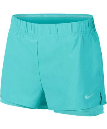 Nike Women's Court Flex Shorts Light Aqua 939312-434