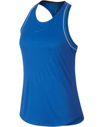 Nike Women's Court Dry Tank Signal Blue 939314-403