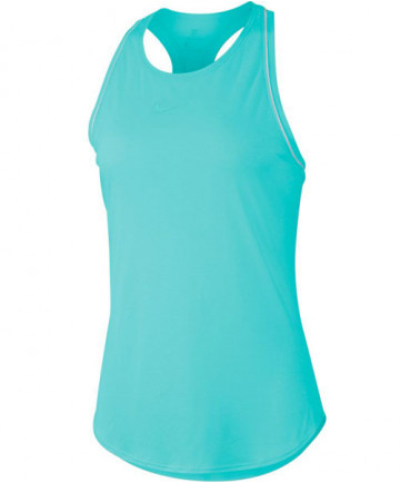 Nike Women's Court Dry Tank Light Aqua 939314-434