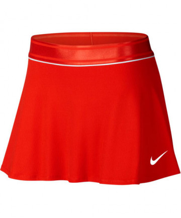 Nike Women's Court Flouncy Skirt Habanero Red 939318-634