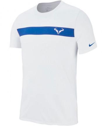 Nike Men's Rafa Short Sleeve Dry Tee White AA752-100
