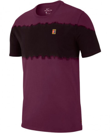 Nike Men's Court Seasonal Tee Bordeaux AA7760-609
