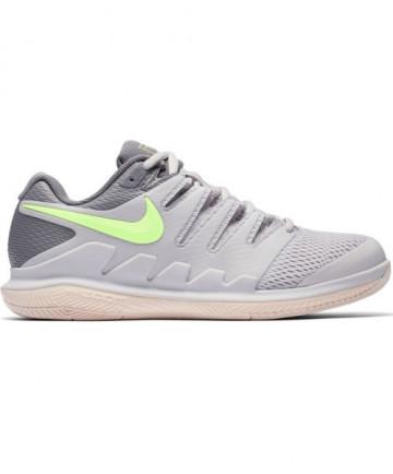 Nike Women's Zoom Vapor X Shoes Grey/Green AA8027-002