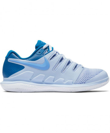 Nike Women's Zoom Vapor X Shoes Blue/Purple AA8027-401