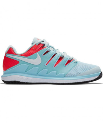 Nike Women's Zoom Vapor X Shoes Still Blue/Crimson AA8027-402