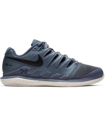 Nike Women's Zoom Vapor X Shoes Metallic Blue Dusk AA8027-405