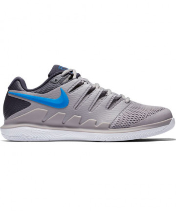 Nike Men's Air Zoom Vapor X Shoes Grey/Blue AA8030-002