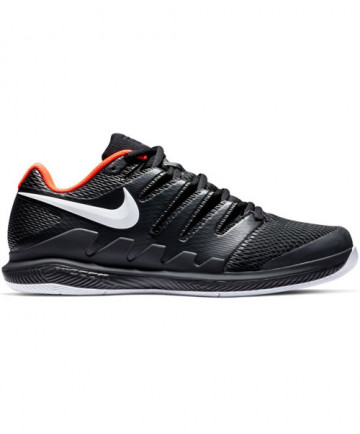 Nike Men's Air Zoom Vapor X Shoes in Black / White / Crimson AA8030-016