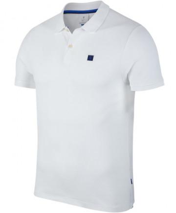 Nike Men's Court RF Roger Federer Essential Polo White AH6762-100