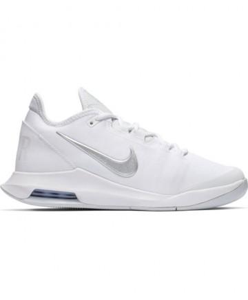 Nike Women's Court Air Max Wildcard Shoes White / Metallic Silver AO7353-100