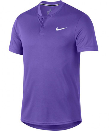 Nike Men's Court Dry Blade Polo Psychic Purple AQ7732-550