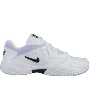 Nike Women's Court Lite 2 Shoes White / Black / Oxygen Purple AR8838-100