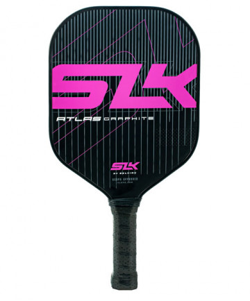 Selkirk Atlas SLK Graphite Control Widebody Pickleball Paddle Purple 1450