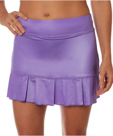 Sofibella Venice 13 Inch Match Point Skort Metallic Purple 1757-MPR