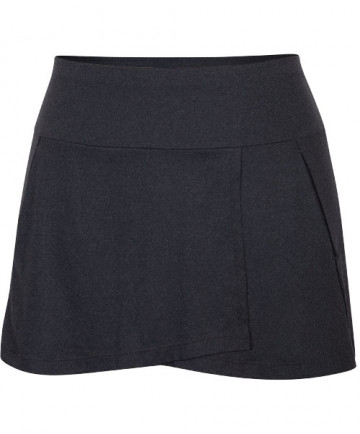 Tail Palm Springs 13.5 Inch A-Line Skirt Black Heather TB6724-142