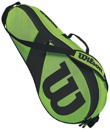 Wilson Match III 3 Pack Bag Green/Black WRZ824803