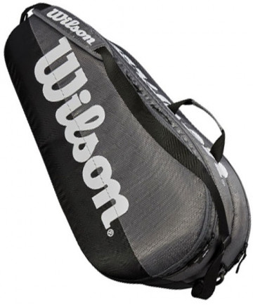 Wilson Team 2 Compartment 6 Pack Tennis Bag Grey WRZ854909
