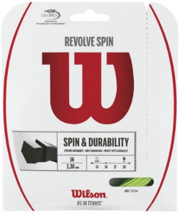 Wilson Revolve Spin 16 Poly String Green WRZ956800