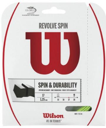Wilson Revolve Spin 17 Poly String Green WRZ956900