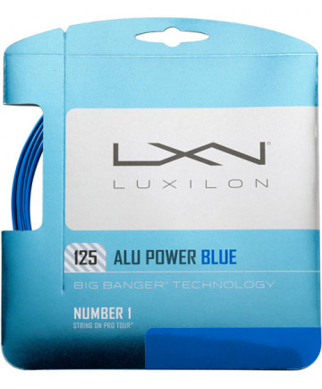 Luxilon ALU Power 16L Blue 1.25 String WRZ990210