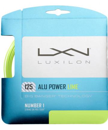 Luxilon ALU Power 16L Lime 1.25 String WRZ990240