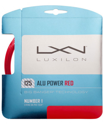 Luxilon ALU Power 16L Red 1.25 String WRZ990250