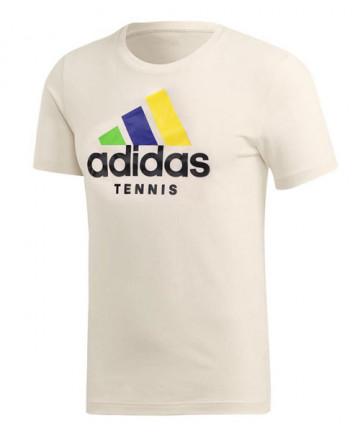 Adidas Limited Edition Edberg Tee-Cream White FI8187