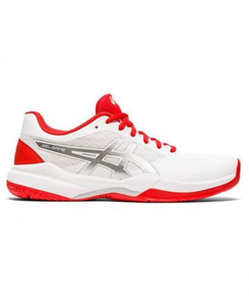 Asics Gel Game 7 Women's White/Fiery Red 1042A036-105