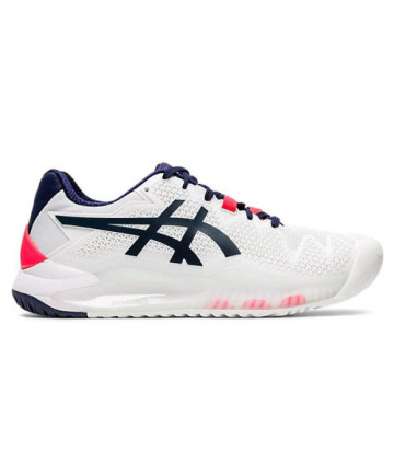 Asics Gel Resolution 8 Wide Women's White/Peacoat