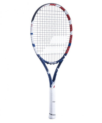 Babolat Boost Drive Tennis Racquet USA (Pre-Strung) Red/White/Blue 121213-331