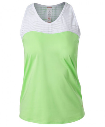 Cross Court Lime Light Racerback-Melon 8764-9232