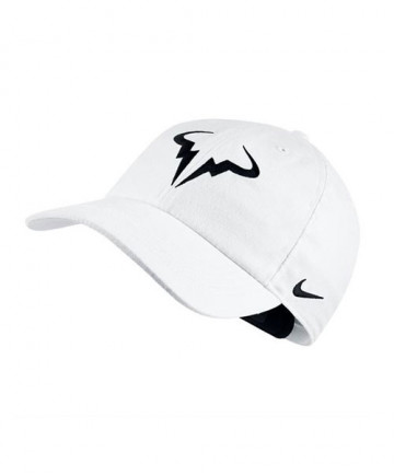 Nike Rafa Aerobill Cap-White 850666-101