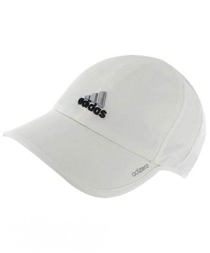 Adidas Women s AdiZero II Cap White Black 5127550 - Headwear ... 47c82cf475c5