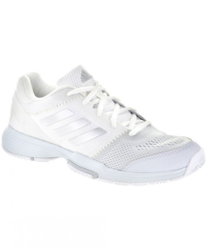 dbdd1574204 Adidas Women's Barricade Club Shoes White/Silver BB3378 - Women - Shoes