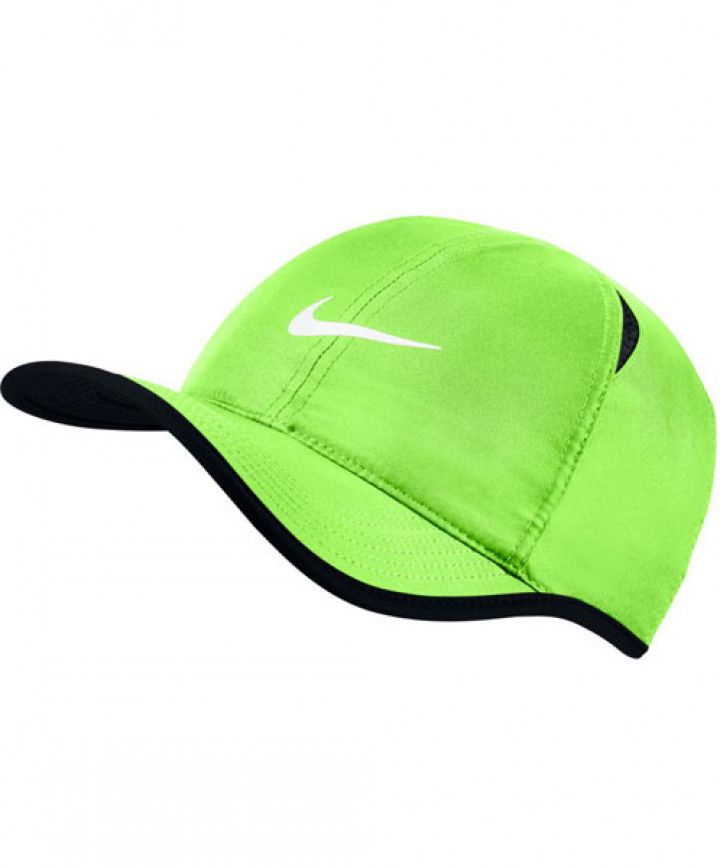 cfa533dfef9d7 Nike Court Aerobill Featherlight Cap Ghost Green 679421-368