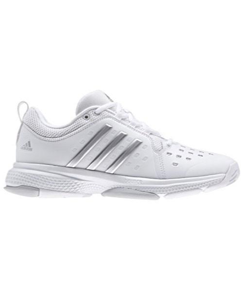 Adidas donne barricata classico rimbalzare le scarpe bianche / silver by2926