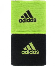 Adidas Interval Reversible Wristband Small Slime/Black 5128853
