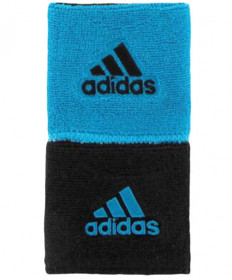 Adidas Interval Reversible Wristband Small Blue/Black 5132190