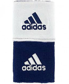 Adidas Interval Reversible Wristband Navy/White Small 5133997