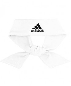 Adidas Alphaskin Tie Headband White 5147664