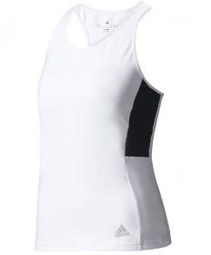 Adidas Women's Advantage Tank White/Black BJ8768
