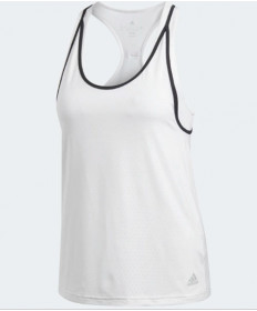 Adidas Women's Advantage Strappy Tank White / Black BK0640