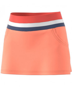 Adidas Women's Club Skirt Chalk Coral CE1487