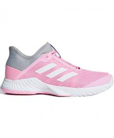 Adidas Women's AdiZero Club Shoes Light Granite / True Pink CG6363