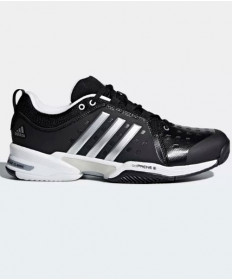 Adidas Men's Barricade Classic WIDE 4E Shoes Black CP8694