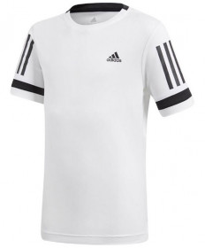 Adidas Boys' Club Tee White CV5894