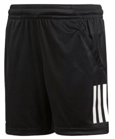 Adidas Boys' Club 3 Stripe Shorts Black CV5897