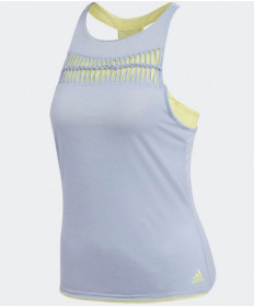 Adidas Women's Melbourne Tank Chalk Blue CV9941